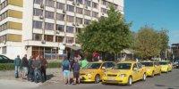 Таксиметрови шофьори протестираха в Пловдив