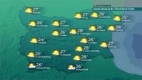 По-топло и предимно слънчево време през почивните дни
