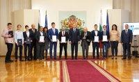 """Президентът Румен Радев връчи наградата """"Джон Атанасов"""""""
