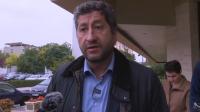 Христо Иванов е в Нова Загора в покрепа на протеста срещу мръсния въздух