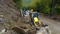 До края на ноември ще приключи укрепването на свлачището към Рилския манастир