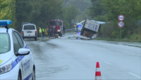 Двама души загинаха в тежка катастрофа на пътя Русе - Разград