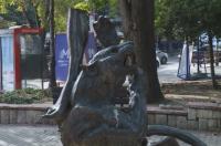Задържаха мъжа, задигнал статуята на Диана във Варна