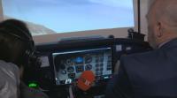 Студентите от ТУ се обучават на авиосимулатор собствено производство