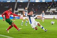 За първи път в своята история България отстъпи на Финландия