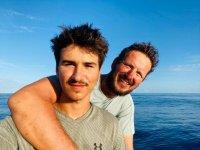 Специално за БНТ: Стефан и Макс за историческото си плаване през Атлантика