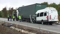 9 души остават в ямболската болница след тежката катастрофа край Лесово
