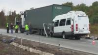 Повдигат обвинение на шофьора на тира от катастрофата до Лесово