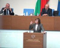 снимка 5 Дебат в НС за оставката на Цвета Караянчева