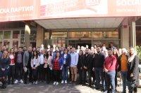 Корнелия Нинова се срещна с Младежкото обединение на БСП