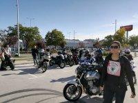 снимка 12 Жени от цяла България на мотошествие в подкрепа на кампания срещу рака на гърдата
