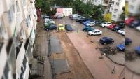 """Кой е виновен за калта пред блок в столичния квартал """"Илинден""""?"""