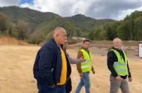 Борисов инспектира строителството на новия граничен пункт с Гърция