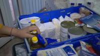 БЧК започна раздаването на хранителни продукти в София