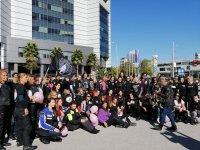 снимка 11 Жени от цяла България на мотошествие в подкрепа на кампания срещу рака на гърдата