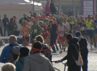 Разпитаха мъжа, блъснал сръбската атлетка на маратона в София