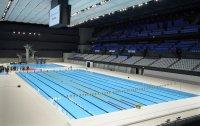 снимка 4 Токио откри плувния център за Олимпийските игри (Снимки)