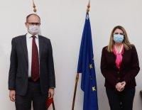 Посланикът на Дания към Ахладова: България се развива в правилната посока