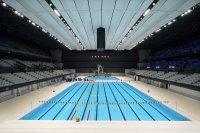 снимка 1 Токио откри плувния център за Олимпийските игри (Снимки)
