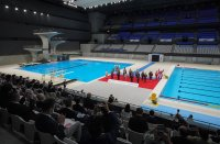 снимка 5 Токио откри плувния център за Олимпийските игри (Снимки)