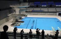 снимка 3 Токио откри плувния център за Олимпийските игри (Снимки)