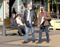 снимка 1 Спазват ли софиянци наредбата за носене на маски на открито?