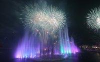 снимка 3 Откриха уникален многоцветен фонтан в Дубай (Снимки)