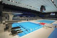 снимка 2 Токио откри плувния център за Олимпийските игри (Снимки)