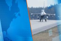 Седем F-16 от ВВС на САЩ и български МиГ-29 патрулират над Черно море