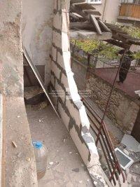 снимка 3 Жена пострада при взрив на газова бутилка в Асеновград (СНИМКИ)