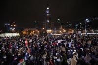 Хора от цяла Полша се събраха на протест във Варшава