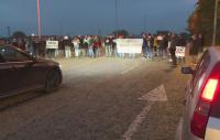 Жители на Мартен блокираха за кратко пътя Русе – Силистра в протест за чист въздух