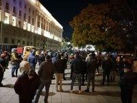 114-а вечер на протести в София