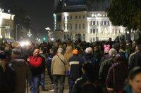 110-а вечер на протести в София
