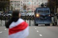 Над 100 души задържани при протестите в Беларус