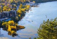 снимка 2 Панчаревското езеро - популярен маршрут за разходка