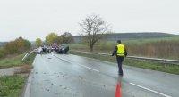 Един човек загина при тежка катастрофа на пътя Русе-Варна