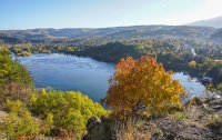 снимка 11 Панчаревското езеро - популярен маршрут за разходка