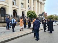 Адвокати протестираха срещу предложението за съдебна ваканция