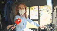 Само една жена е шофьор на автобус в Благоевград. Коя е тя?