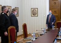 Президентът организира среща за състоянието на армията в условията на COVID-19
