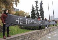 """Майки от """"Системата ни убива"""" протестират срещу Закона за личната помощ"""