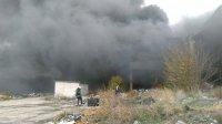 снимка 5 Голям пожар в склад в Ямбол