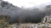 снимка 2 Голям пожар в склад в Ямбол