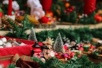 снимка 2 Коледният дух завладява София въпреки пандемията (Снимки)