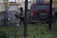 Мъж държа деца за заложници в Санкт Петербург