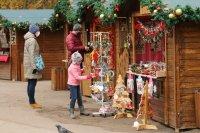 снимка 9 Коледният дух завладява София въпреки пандемията (Снимки)