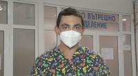 Кинезитерапевт е доброволец в COVID отделение в Търговище