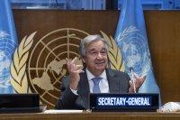 Антониу Гутериш поздрави България за 65-ата годишнина от членството ни в ООН