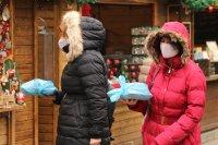 снимка 20 Коледният дух завладява София въпреки пандемията (Снимки)